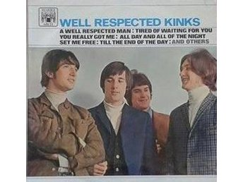 The Kinks titel* Well Respected Kinks* MALS 612 UK - Hägersten - The Kinks titel* Well Respected Kinks* MALS 612 UK - Hägersten