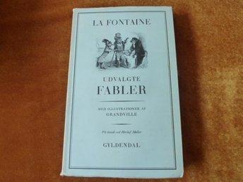 LA FONTAINE UDVAGLTE FABLER, 1972, BOK, DANSK BOG, POCKET - Anderstorp - LA FONTAINE UDVAGLTE FABLER, 1972, BOK, DANSK BOG, POCKET - Anderstorp