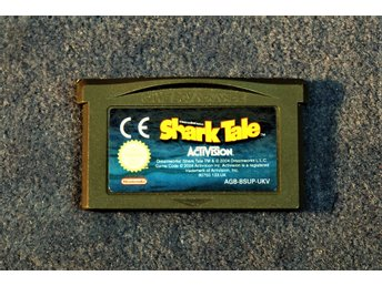 TV-SPEL   GAMEBOY ADVANCE   SHARK TALE   ENGELSK TEXT FINT SKICK