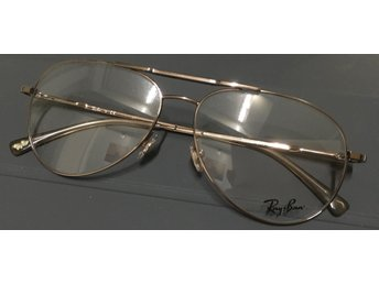 Ray-Ban glasögon nya med clip-on polariserade, pilotmodell, unisex, superfina,