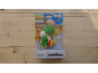 Yarn Yoshi Amiibo Green Yoshis Woolly World Nintendo Wii U Switch Mario