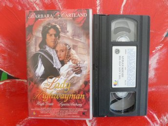 THE LADY AND THE HIGHWAYMAN, VHS, 90 MIN., ROMANTISK DRAMA FILM