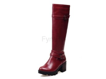 Dam Boots Platform Quality Footwear Shoes jiu hong se 40