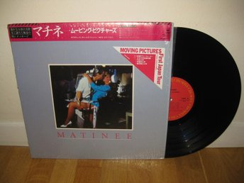 MOVING PICTURES - Matinee LP 1983 / Japan