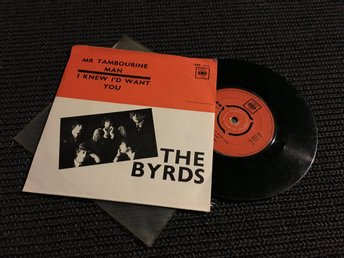 SI THE BYRDS MR TAMBOURINE MAN CBS SE PS DYLAN