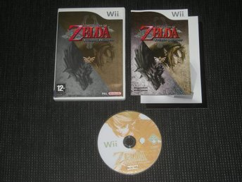 1KR START! Nintendo Wii Zelda Twilight Princess Svensk Utgåva!