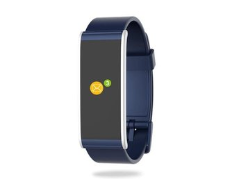 MyKronoz ZeFit 4 HR Activity tracker Blue/Silver