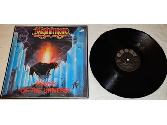 "Nightmare LP 1985 "" Power Of The Universe"" UK PRESS"