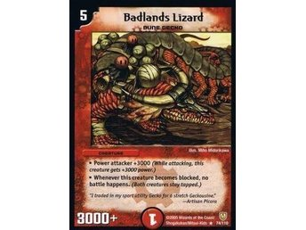Badlands Lizard 74/110