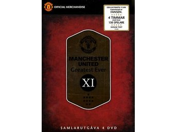 Manchester United / Greatest ever XI (4 DVD)