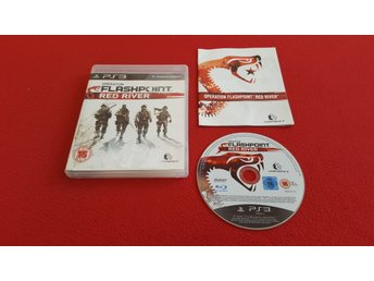 OPERATION FLASHPOINT RED RIVER till Sony Playstation 3 PS3