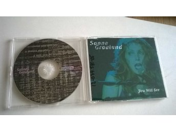 Sanne Graulund - You Will See, CD, Single, rare!