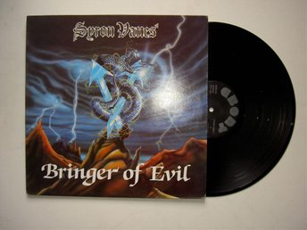 Syron Vanes- Bringer of Evil UK Org  Ebony Records Rare Signed 1984
