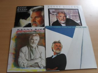 4 LP'S - KENNY ROGERS