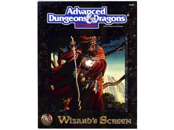 Advanced Dungeons & Dragons - Wizard's Screen - TSR 9468 -