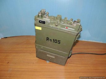 RA105 UK-station med 12 V tillsats