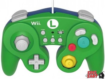 Hori Gamecube Battle Pad (Luigi)