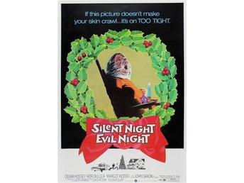 BLACK CHRISTMAS - Stilla Natt Blodiga Natt - FILMKORT i A4 med udda titel - åkersberga - BLACK CHRISTMAS - Stilla Natt Blodiga Natt - FILMKORT i A4 med udda titel - åkersberga