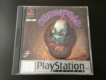 Oddworld: Abe's Oddysee - Playstation PS1