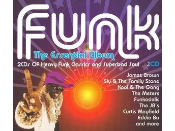 FUNK the essential album - 2 cd