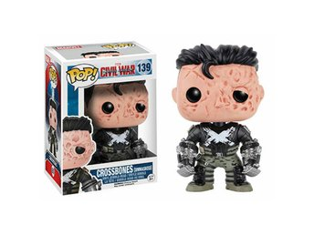 Funko Pop! Captain America Civil War: Crossbones [Unmasked] no139