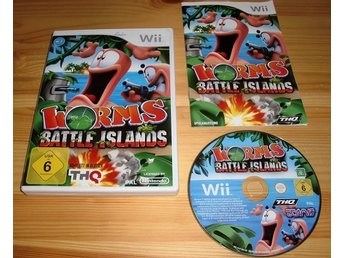 Wii: Worms Battle Island