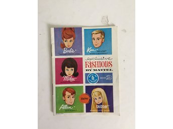 Barbie Mattel 1963 Katalog Booklet Book 2 Exclusive Fashions