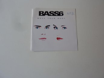 BASS 6 - MOVE YOUR BODY CD-SINGEL/MAXI