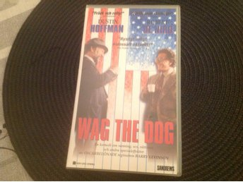 Fynd VHS film Wag the dog