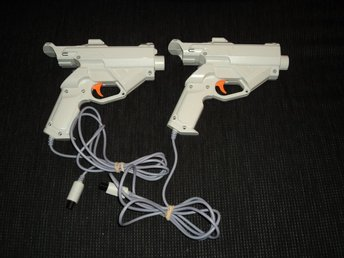 DC Dreamcast 2st Light Gun Ljuspistol