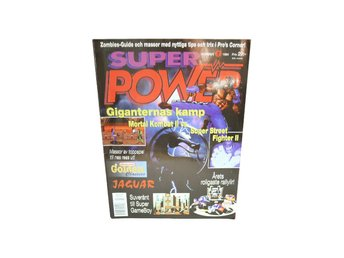 "Super Power Nr 7 1994 "" Mortal KOmbat vs Street Fighter II"""