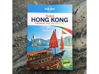 Lonely Planet reseguide pocket Hong Kong