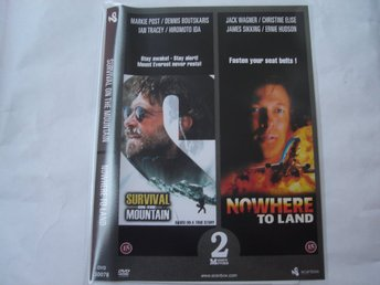 DVD-SURVIVAL ON THE MOUNTAIN & NOWHERE TO LAND