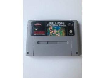 Joe & Mac Caveman Ninja Super Nintendo SNES SCN