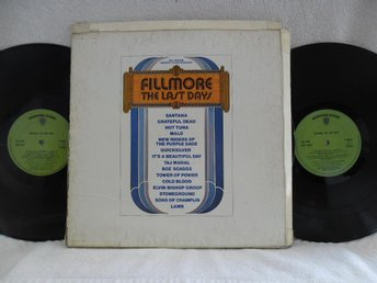 VARIOUS - FILLMORE THE LAST DAYS - K66013 - GRATEFUL DEAD
