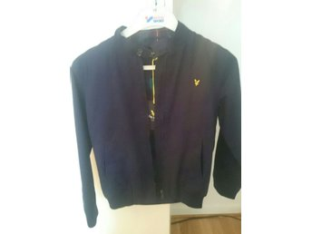 LYLE &SCOTT JACKA MARINBLÅ JUNIOR SOM NY