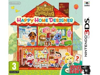 Animal Crossing Happy Home Designer Bergsala UK4 (inkl. Speciellt Amiibo Kort)