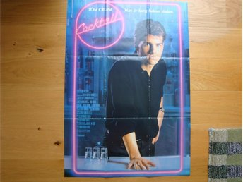 COCKTAIL 70x100 1988 Tom Cruise