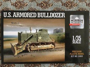 Mirror Models - U.S. Armoured Bulldozer 1/35 - Stockholm - Mirror Models - U.S. Armoured Bulldozer 1/35 - Stockholm