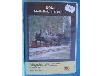 DVD DONJ MALLETLOK NR 8 & 12 - Karlstad - DVD DONJ MALLETLOK NR 8 & 12 - Karlstad