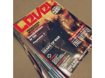 Level 1-12 tv-spels tidning magasin