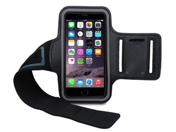 Sport armband till iphone 6/6s plus  svart