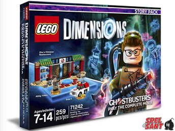 Lego Dimensions Ghostbusters Story Pack 71242