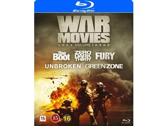 War movies / Vol 1  5 filmer (5 Blu-ray)