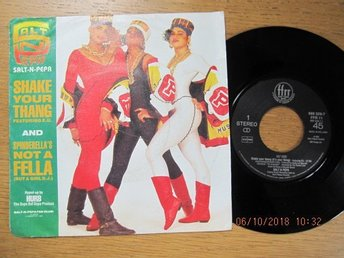 "Salt-n-Pepa 7"": Shake Your Thang/Spinderella"