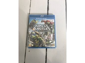 Teenage Mutant Ninja Turtles out of the shadows 3D