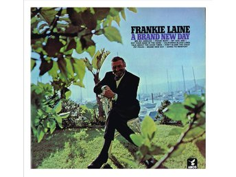 "FRANKIE LAINE - A Brand New Day - LP ""cut out"""