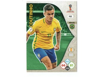 2018 Panini Adrenalyn XL FIFA World Cup Russia Coutinho