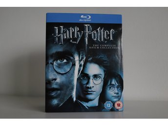 Harry Potter: The Complete 8-Film Collection [Blu-Ray]. 11 Discar! NY! Sv. text!
