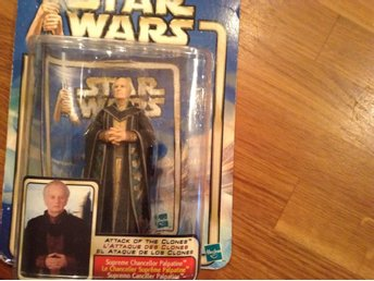 Star Wars figur Supreme Chancellor Palpatine från Attack of The Clones